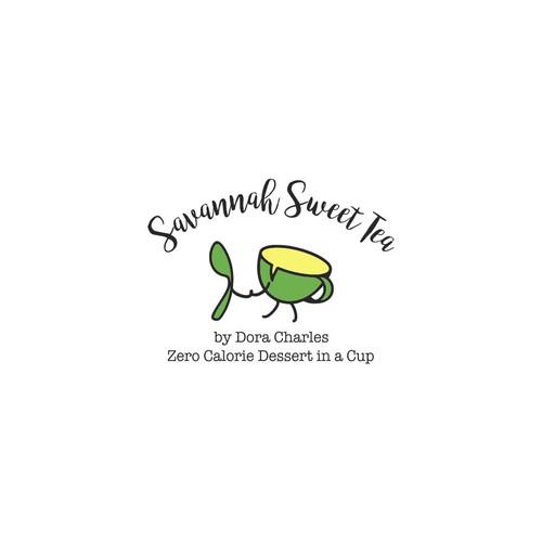 Cute logo for a Tea Copany