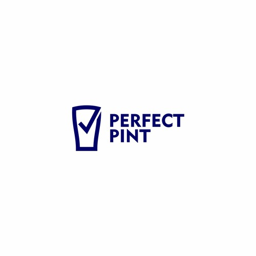 Winning Logo of Perfect Pint