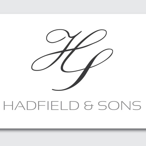 Create the next logo for Hadfield & Sons