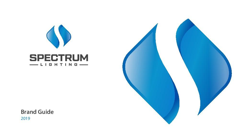 New 2019 Spectrum Lighting Logo
