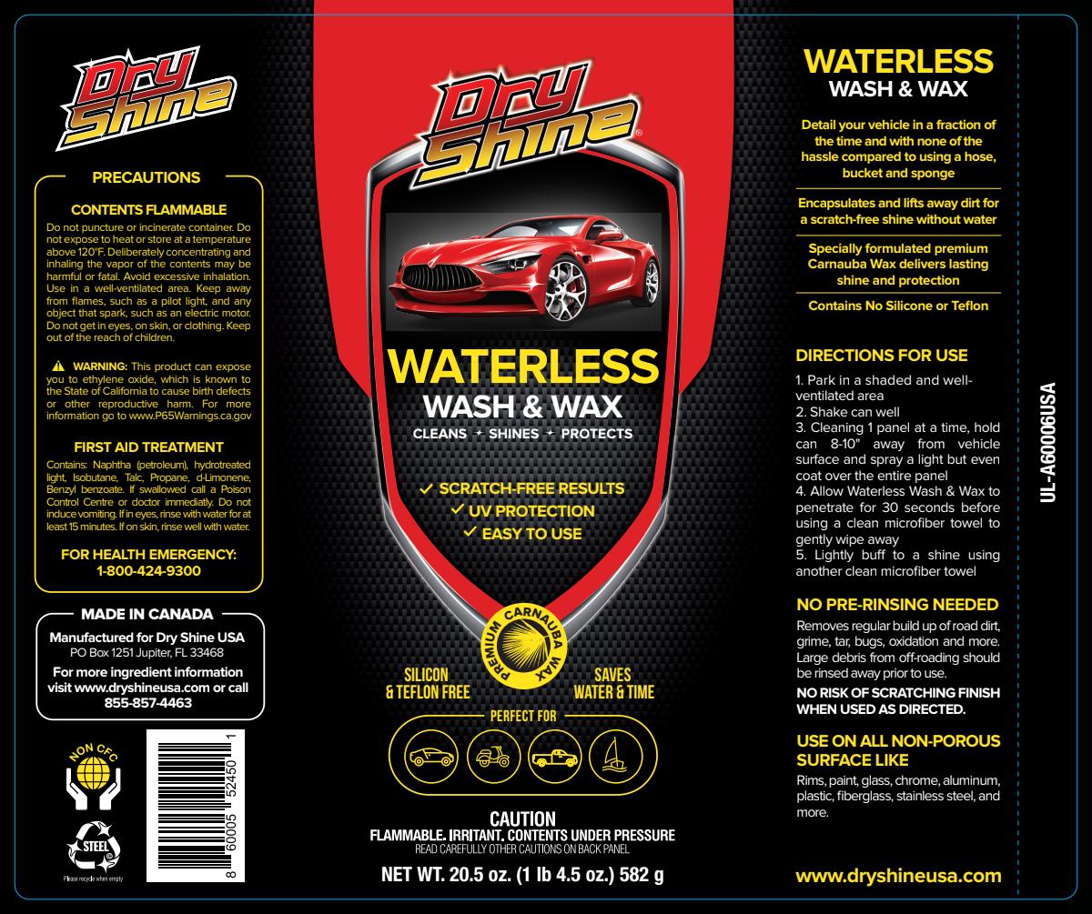 Waterless Car Care