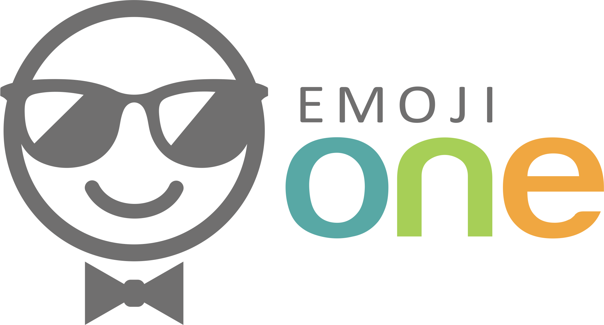 Illustrate the best smiley for Emoji One's new logo!