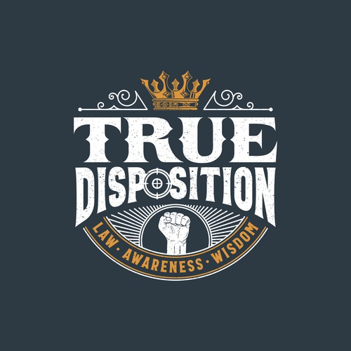 True Disposition Podcast Design.