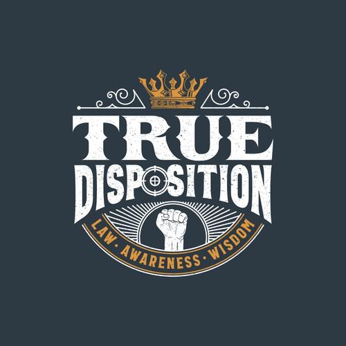 True Disposition Podcast Design.