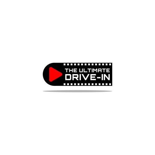 Logo for a drive-in