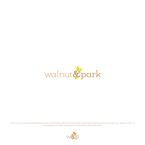 Logo concept for online market selling speciality foods and hand made crafts from local artisans
