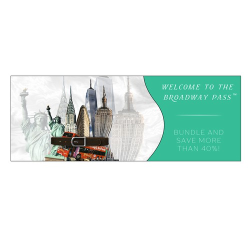 Banner for NYC Tourist Website