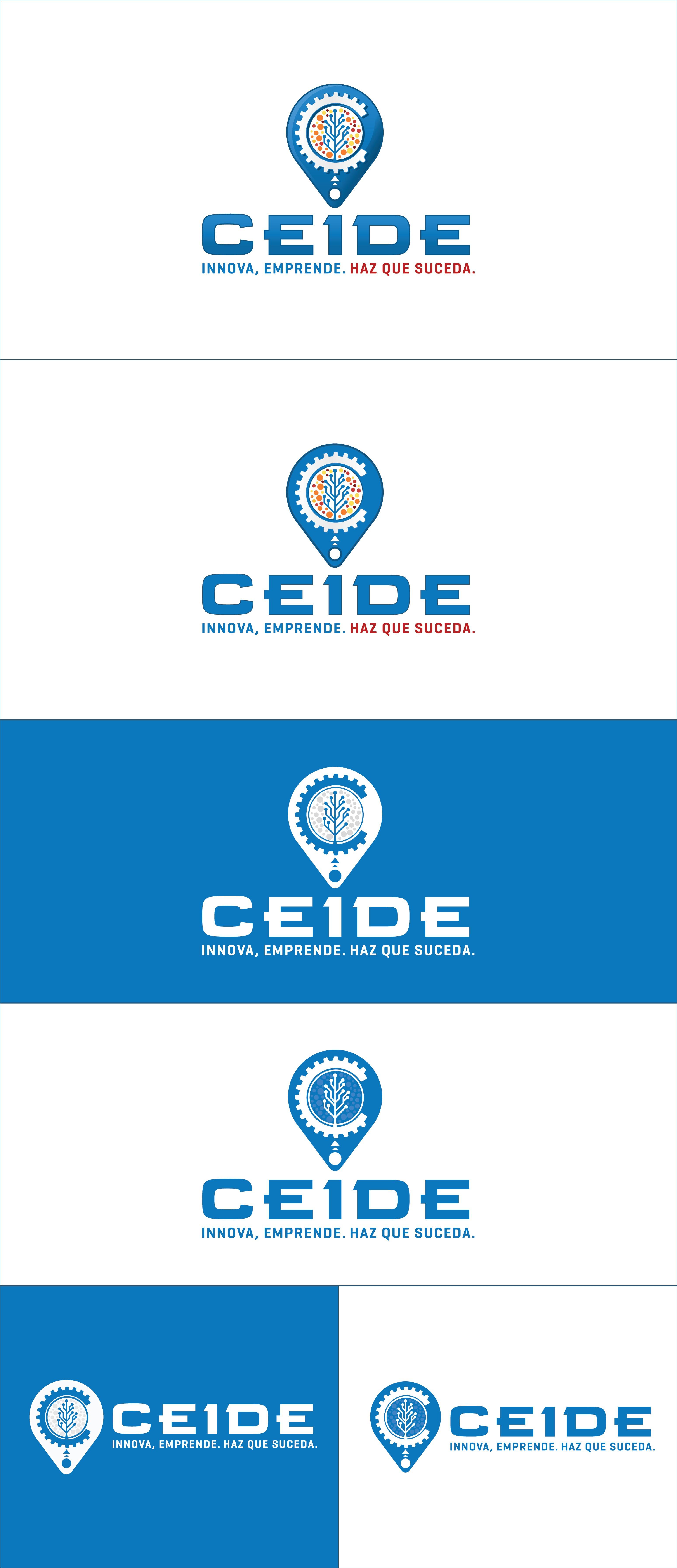 ¡Crea un logotipo innovador y ejecutivo para CEIDE, un espacio de desarrollo empresarial!