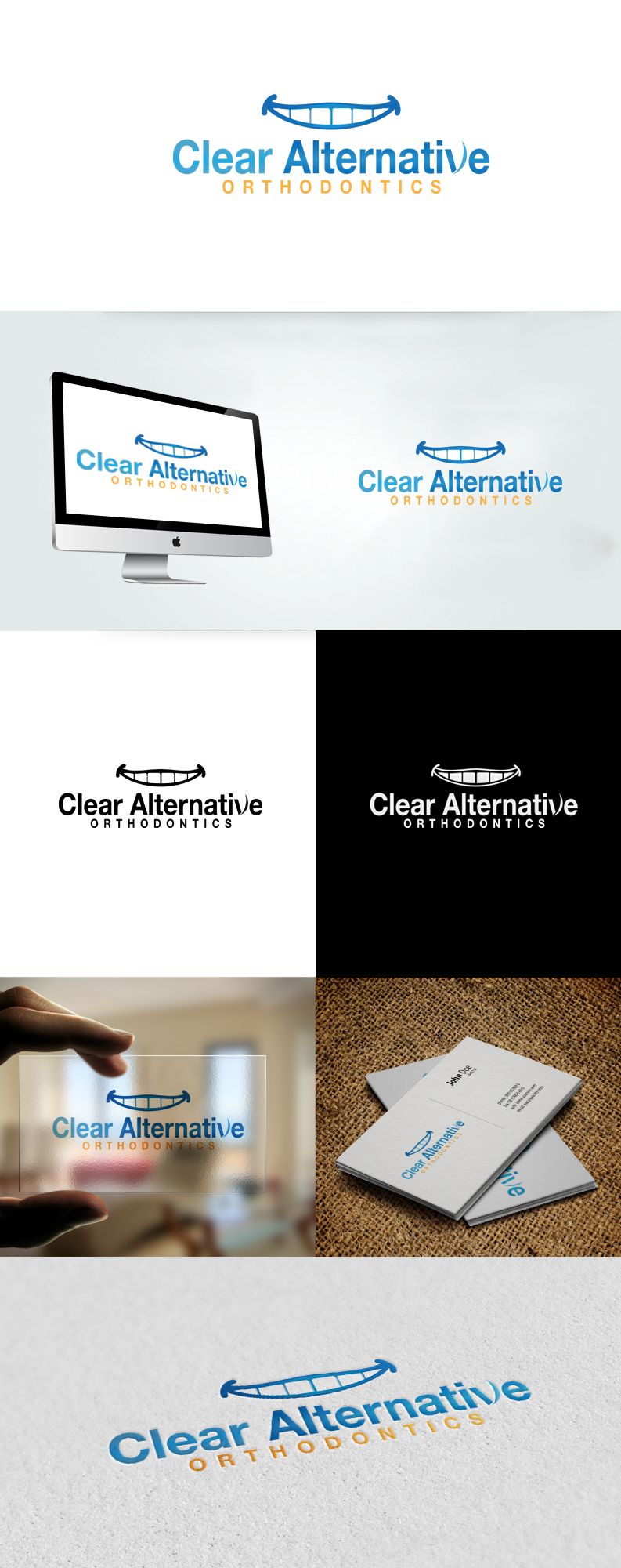 New logo wanted for Clear Alternative Orthodontics