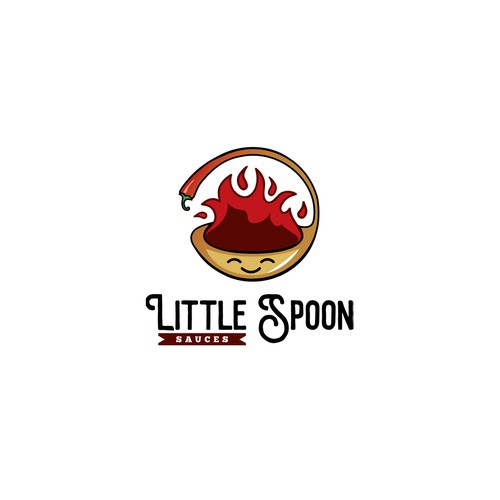 Youthful logo for a hot sauce company