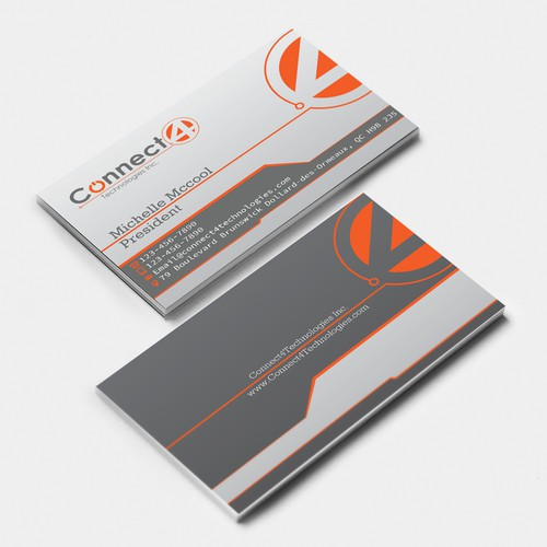 Connect4Technologies Business card