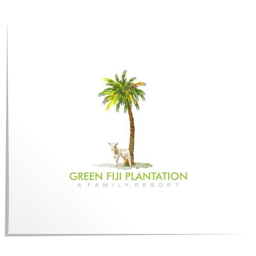 Artistic logo for Resort