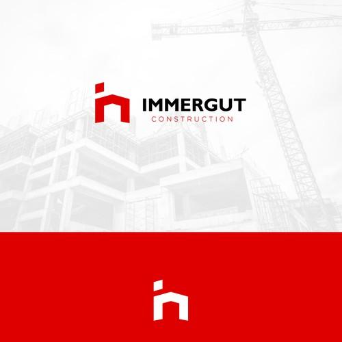 Immergut Construction - Logo Design Concept