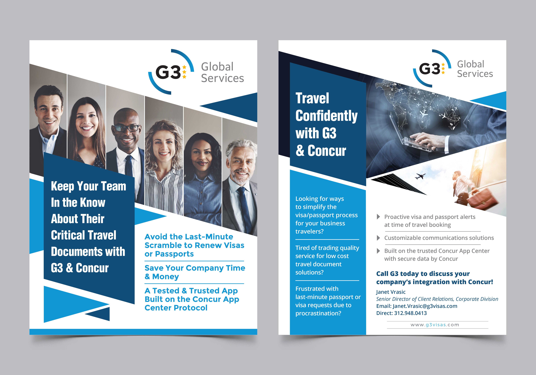 G3 Concur Web App Brochure