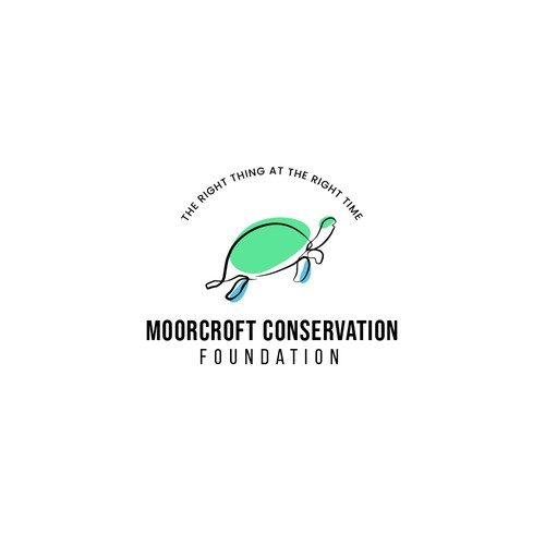 LOGO CONCEPT FOR MOOCROFT CONSERVATION FOUNDATION
