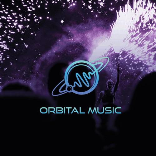Orbital Music - Logo design