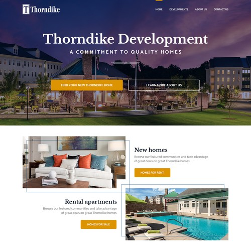 Real Estate Development Website