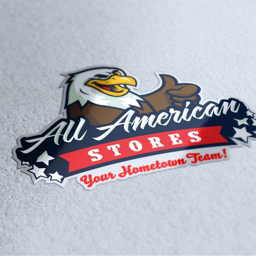Logo selected for All-American Stores!