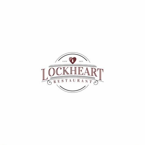 Vintage Style Restaurant Logo for Lockheart