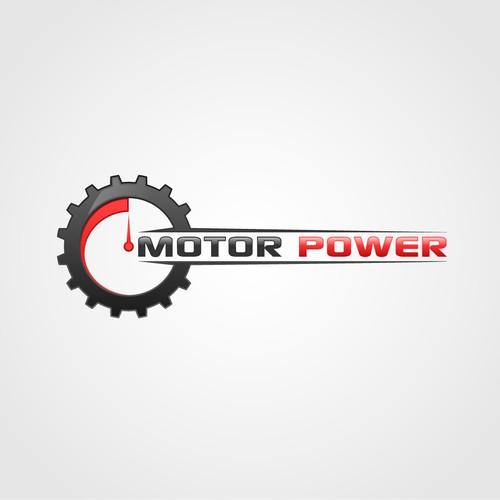 Logo for a motorbike webstore