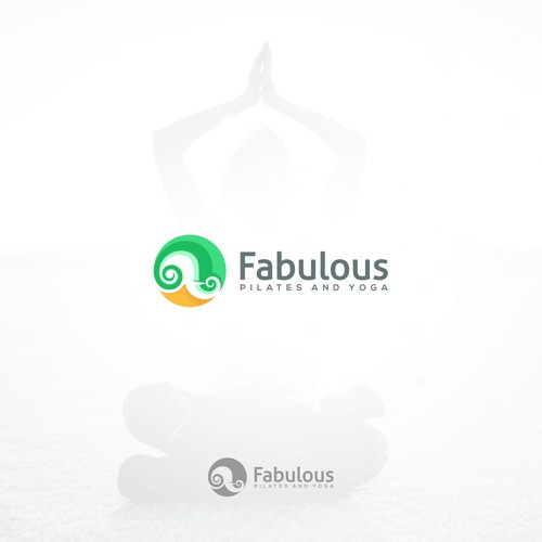 Create the branding for a new pilates and yoga studio with an emphasis on fun