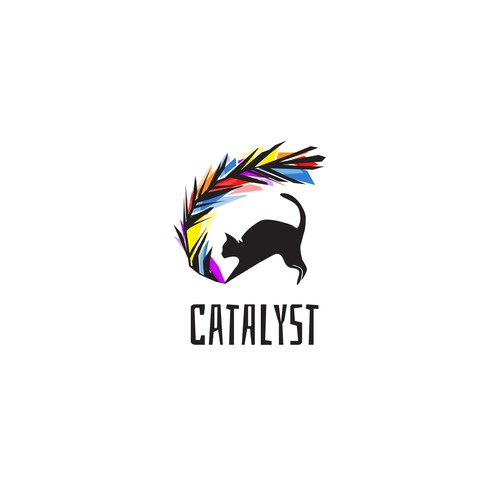 High End Logo for a Cat Feather Toy Retailer