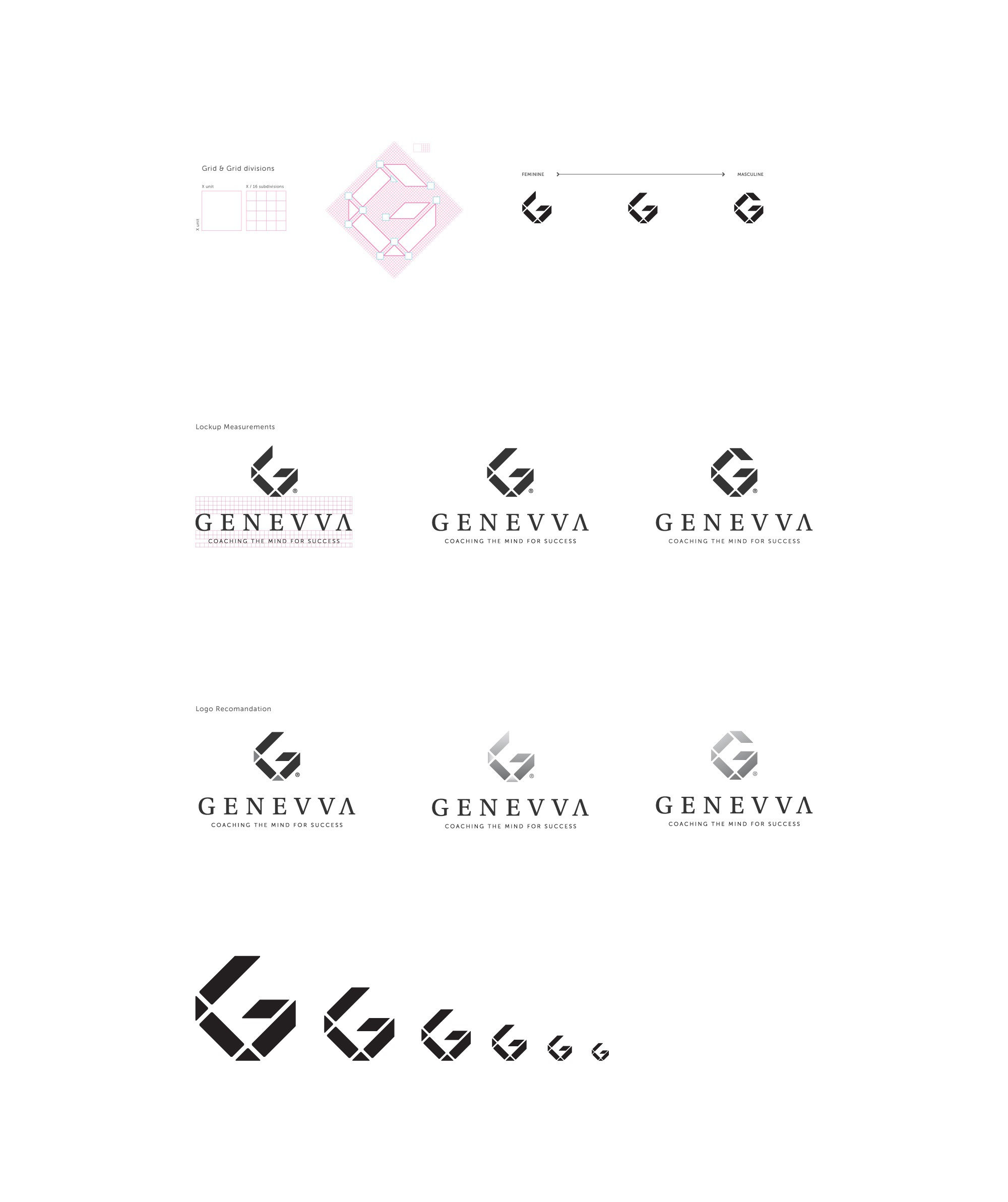 Design a luxurious, boutique feel branding for a coaching & training company