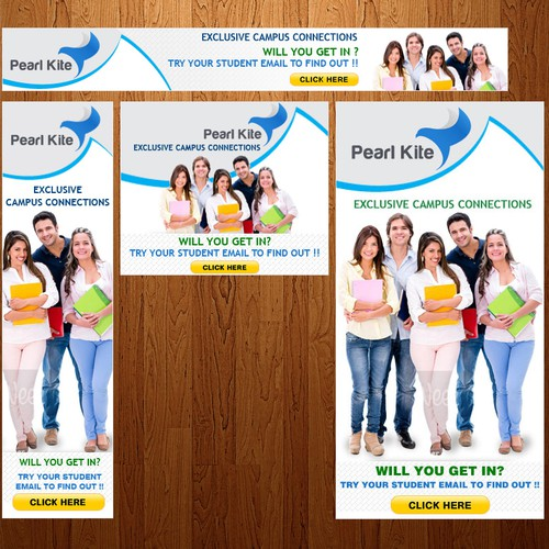 Guaranteed - Banner Ads - Pearl Kite