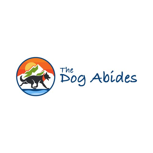 the dog abides