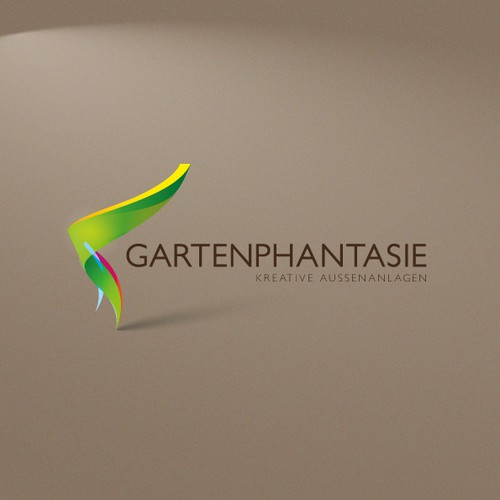 Gartenphantasie Logo Design