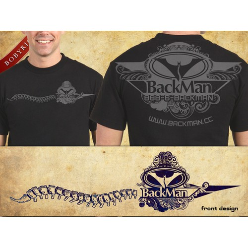 Help BACKMAN CHIROPRACTIC CENTERS with a new design