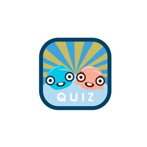 icon button for quiz app