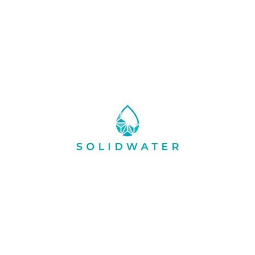 Logo for bottled water brand.