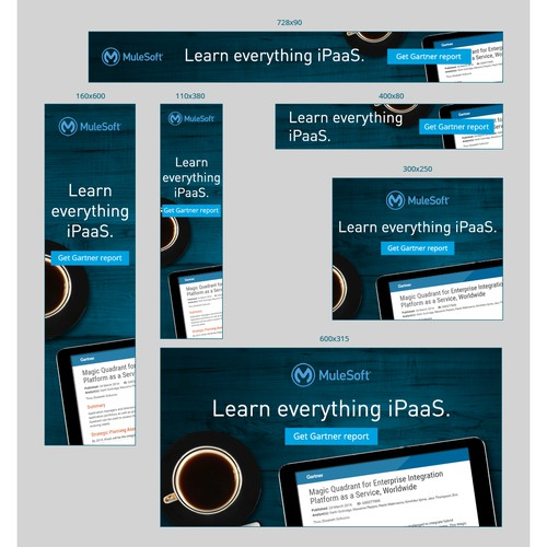 Banner ad design for MuleSoft