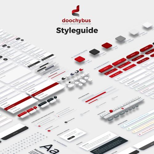 doochybus UI Kit / Styleguide