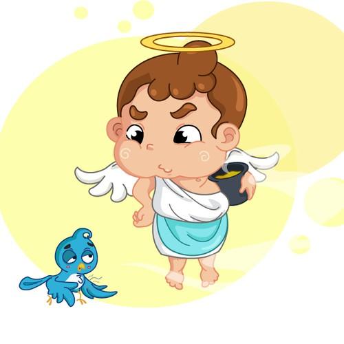 Angel Mascot Concept II - for Taiwan Restaurant