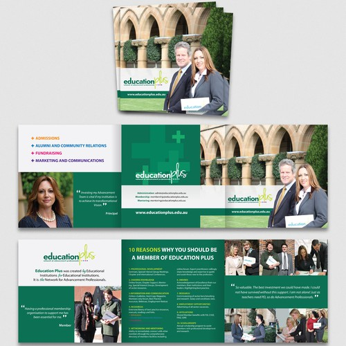 Education Plus needs a new brochure design