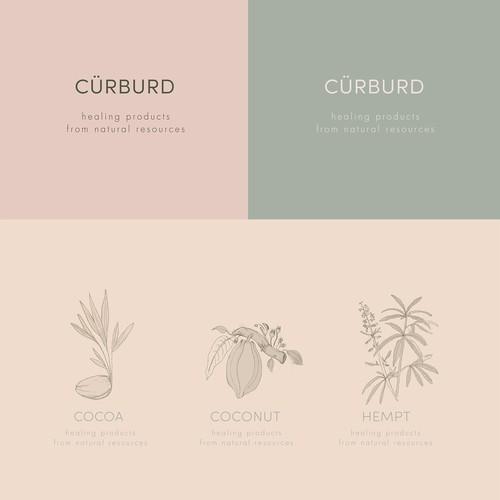 Cürburd brand identity