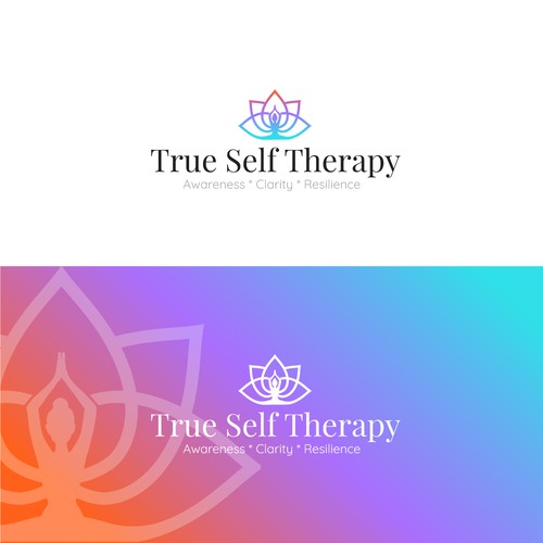 Logo for a Wellness based Medical Therapeutic Yoga brand