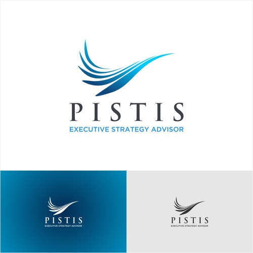 "Logo for Top Strategy Advice ""PISTIS"""