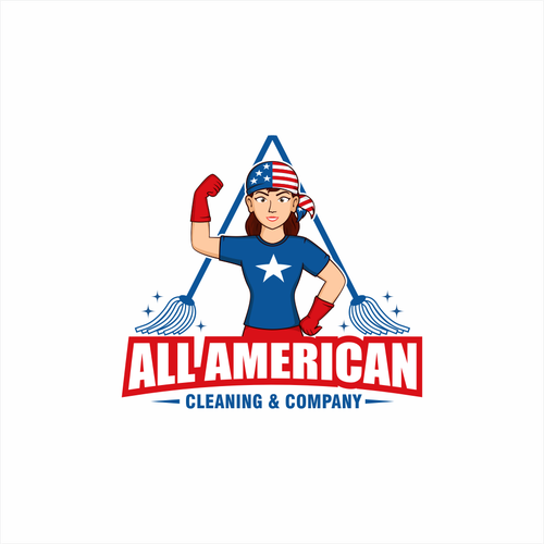 All American Cleaning & Company Logo