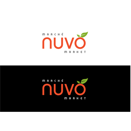 Logo for a fresh new Grocery Store