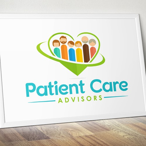 Lovely logo for Patient Care Advisors