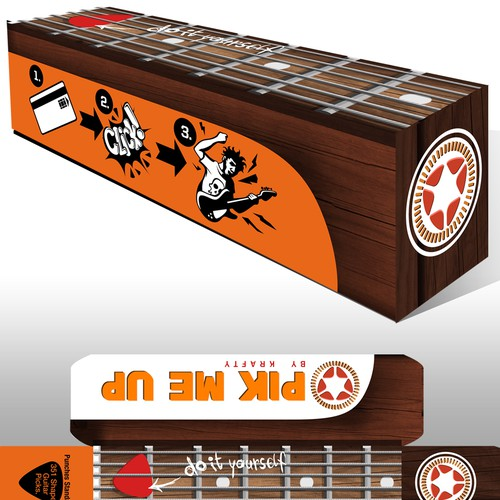 Guitar Pick Box Design