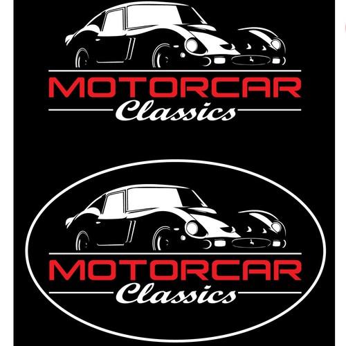 logo for exotic car dealer