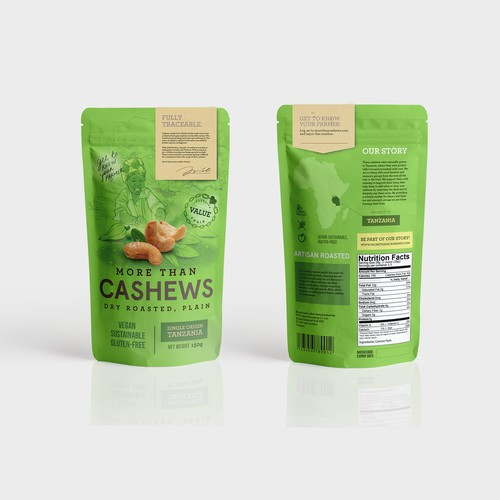 Cashews Packaging Design