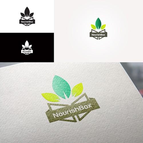 bold logo for NourishBox