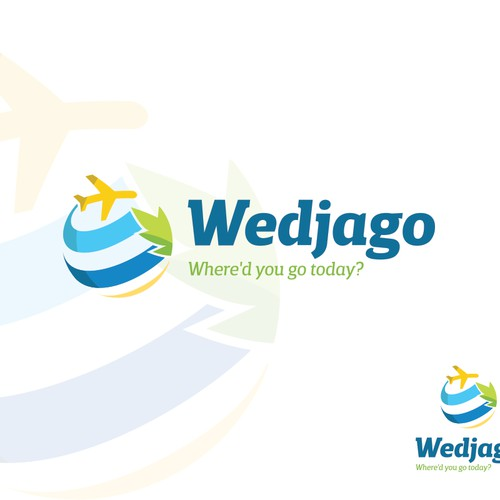 Logo for travel and holiday website