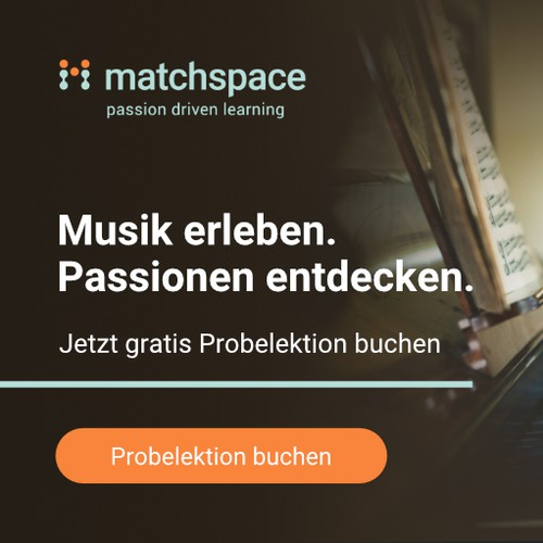 Banner Design for Matchspace