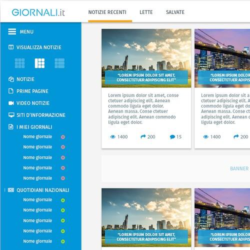 Online Newspaper Aggregator Website